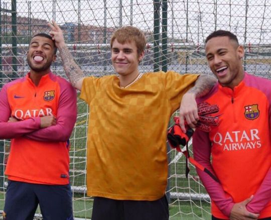 @Rafinha: Great visit today! Nice to see you  @justinbieber