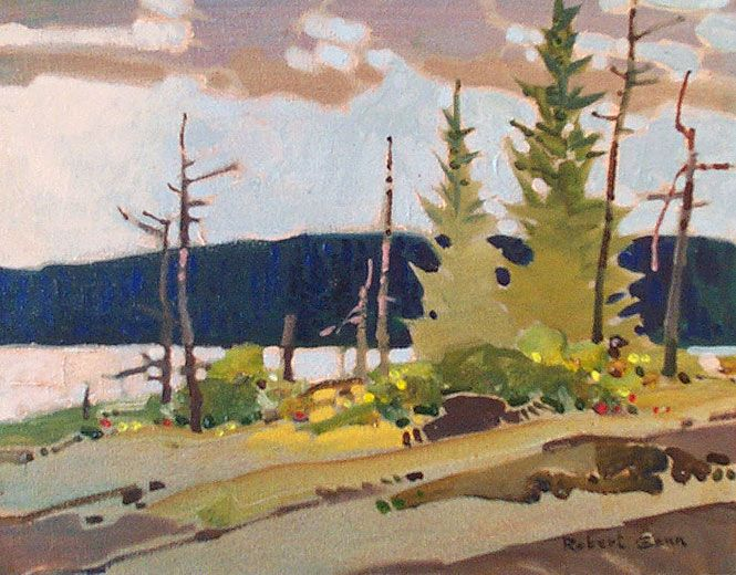 River Passage - Robert Genn :: Landscape Painting