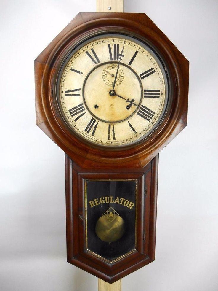 192 best ansonia regulator clocks images on Pinterest Wall