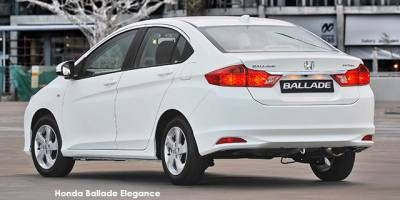 New Honda Ballade 1.5 Elegance auto cars for sale in South Africa - Cars.co.za