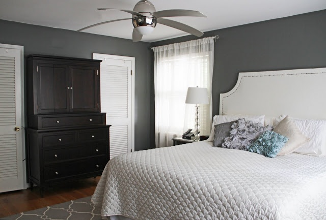 16 best images about paint colors on pinterest hale navy Best gray paint for bedroom benjamin moore