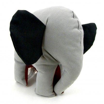 Red and Gray Elephant Medium Size #simplymade #elephant #handmade #gift €15,90