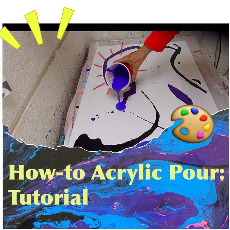 Acrylic Pour Tutorial
