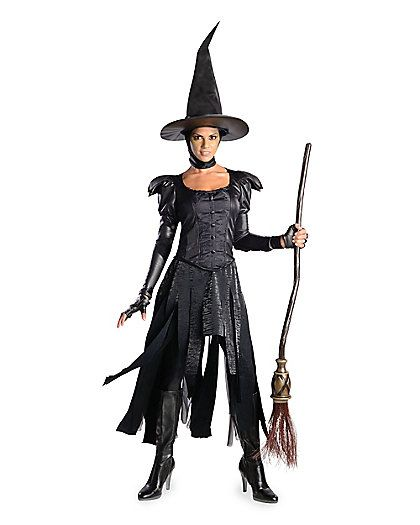 womens  wicked witch of the west costume