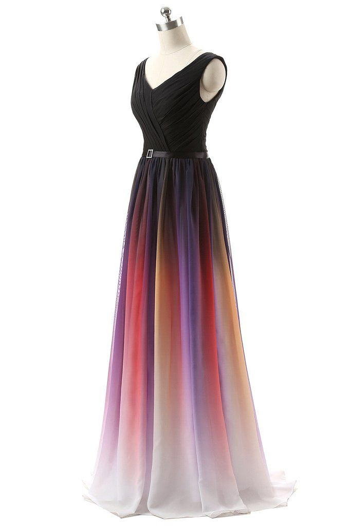 Simple Prom Dresses,Chiffon Long Formal Dress,Lace Up Back Bridesmaid Dress  SP1151