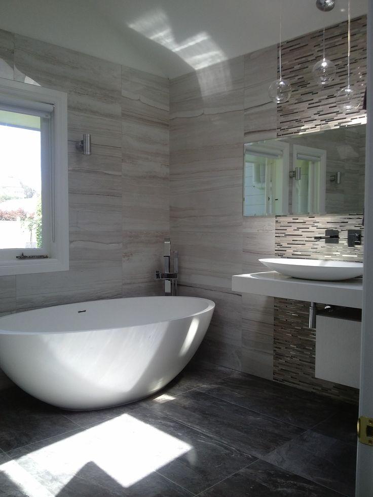 Wonderful  Bathroom Feature Wall Feature Tiles In Bathroom Master Bathrooms
