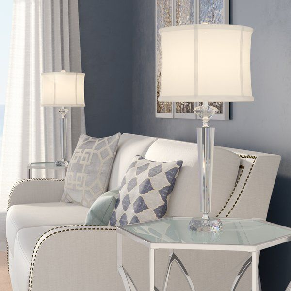 Mcmillin 26 Table Lamp Set Table Lamp Sets Crystal Table Lamps