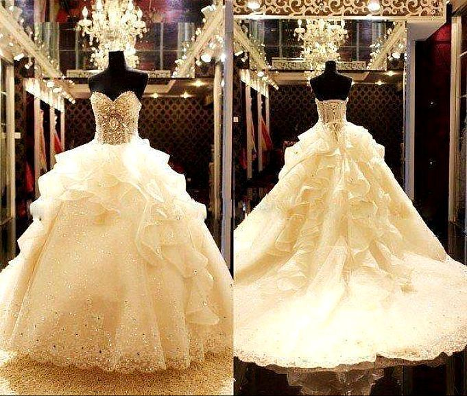 Beautiful Ball Gown Wedding Dresses: Princess Ball Gown! I Can't Believe How Beautiful This