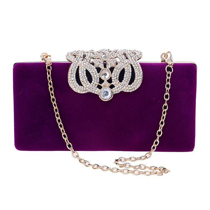 Купить товарГорячая корона бриллианты женщины вечерние сумки клатч кошелек сумки металл золотой вечер сумка сумка в категории Клатчина AliExpress.