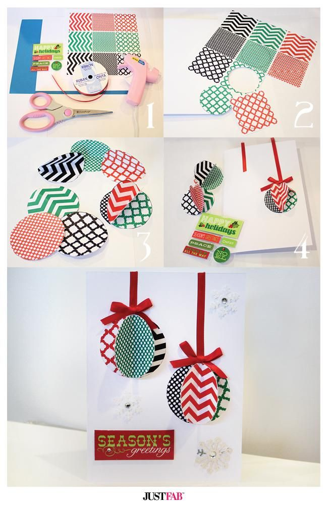 Card Making Ideas For Holi Part - 47: Holiday Greeting Cards DIY
