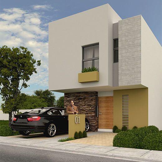 Venta de Casas en Querétaro – Modelo Lenor - Encuentra la mayor oferta de casas nuevas en venta.