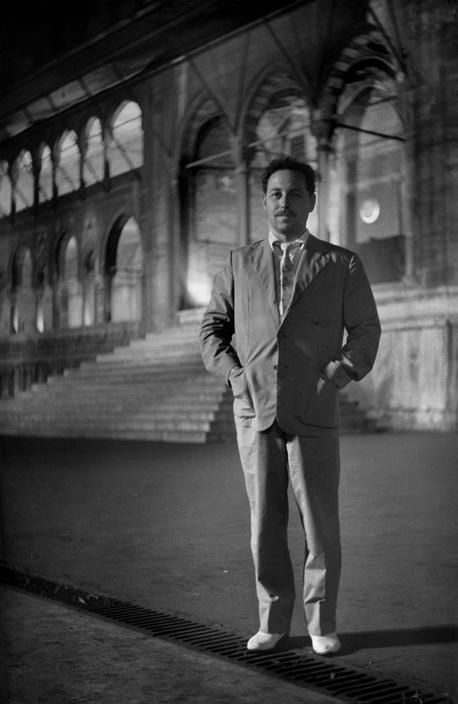 Tennessee Williams in Istanbul, 1954 photo by Ara Guler