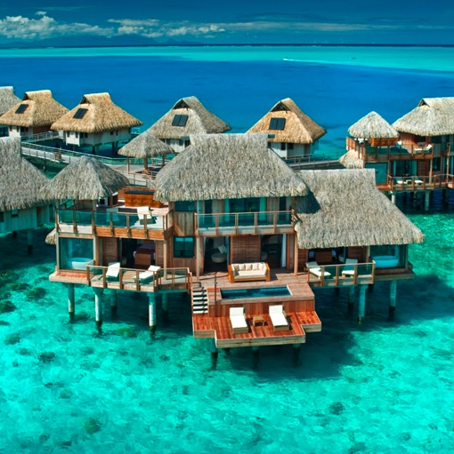 An over-water bungalow is my all-time dream vacation. Fiji, I think.: Bucketlist, Buckets Lists, Nui Resorts, Favorite Places, Dreams Vacations, Hilton Bora, Best Quality, Honeymoons, Borabora