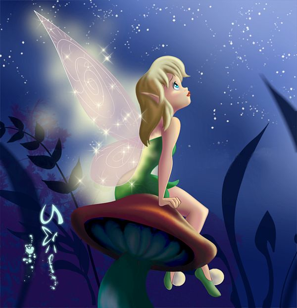 1000 images about fairy disney on pinterest disney tinkerbell and le 39 veon bell - Dessin anime de fee clochette ...