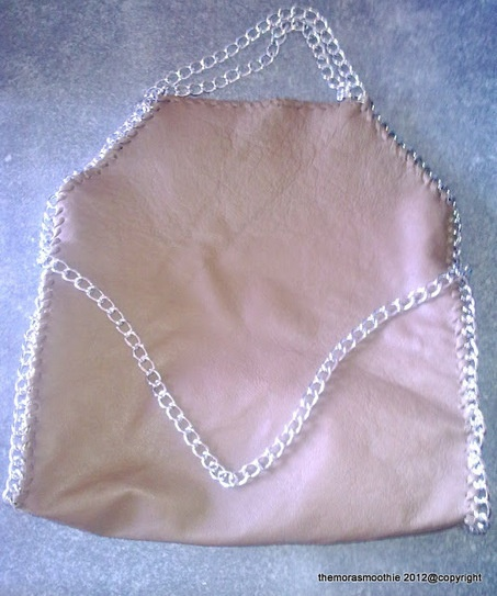 DIY bag Falabella by Stella Mc Cartney! By @themorasmoothie