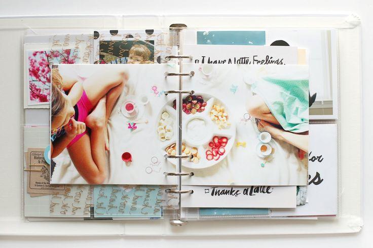 Stephanie Bryan March Project Life Album