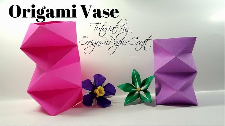 How To Make An Origami Vase ( Bình Cắm Hoa)| Tutorial By OrigamiPaperCraft