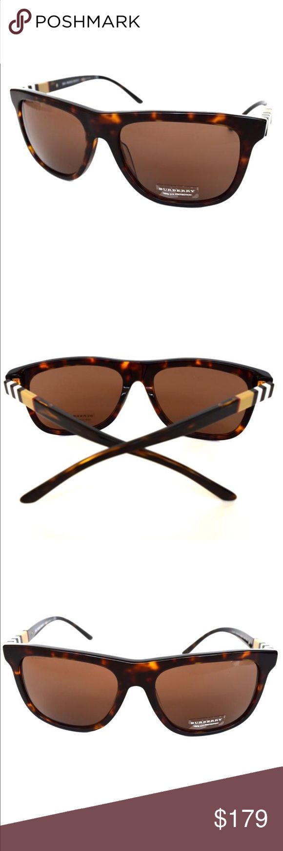 Burberry Sunglasses Tortoise Women's Sunglasses Burberry Sunglasses Tortoise Women's Sunglasses  100% Authentic Made in Italy  58-17-140  Sunglasses come with a Burberry Case, Cloth, Papers and Gift Box Burberry Accessories Sunglasses