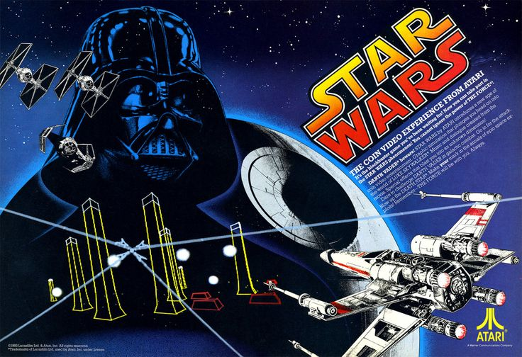 """Star Wars Arcade Game Ad 