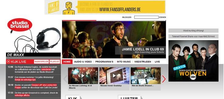 Website Studio Brussel