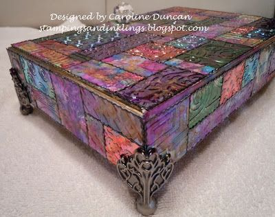 Boxes For Decoration And Crafts 337 Best Altered Box Images On Pinterest  Cigar Box Crafts Box