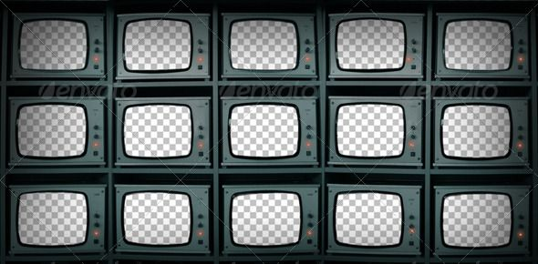 CCTV Monitors Cut-Out Screens - Tech / Futuristic #Photo Templates Download here: https://graphicriver.net/item/cctv-monitors-cutout-screens/4995553?ref=alena994