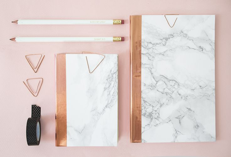 DIY_marble_and_copper_stationery_21                                                                                                                                                      Plus