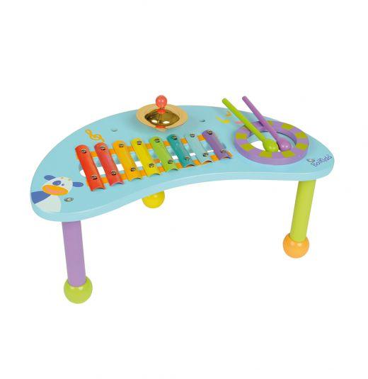 Gran Regalo para el día del niño.Regalar clásicos juguetes de madera. Tabla de percusión. boikido @mundopetitchile @mundopetit #boikido #jueguetes