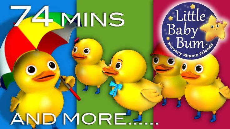 Five Little Ducks   Plus Lots More Nursery Rhymes   74 Minutes Compilati...