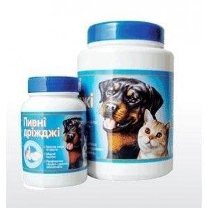 Продукт Пивные дрожжи с чесноком 800 табл. - Интернет зоомагазин Dogstars. Купить корм для собак и кошек в Николаеве