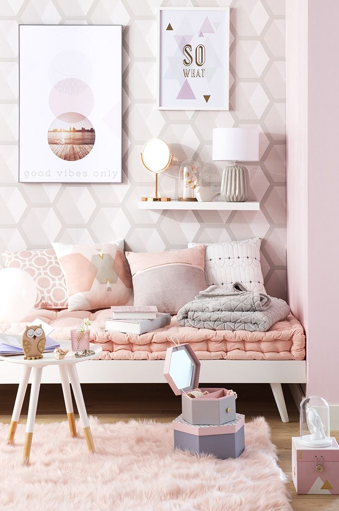 Trend Graphik Pastel – Boudoir Moments | Maisons du Monde