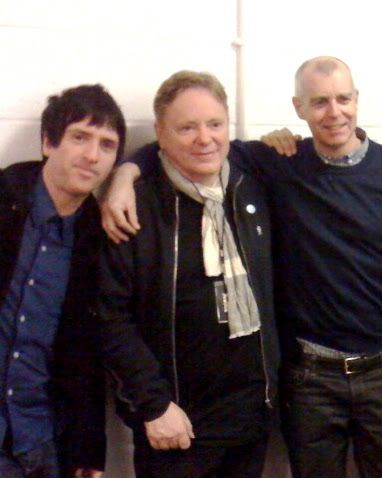 Bernard Sumner, Johnny Marr, and Neil Tennant (Pet Shop Boys)