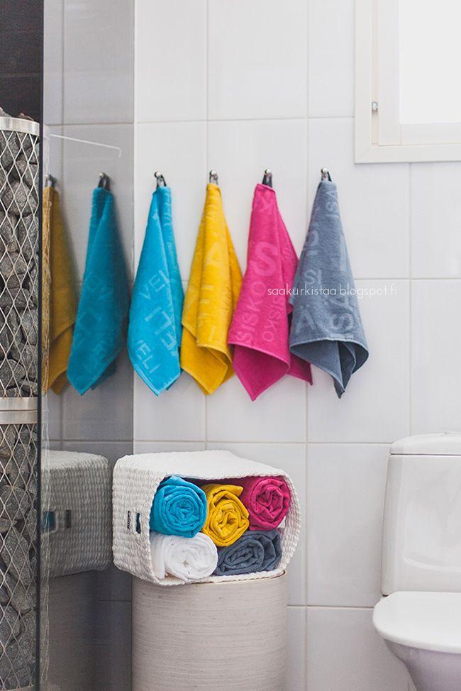 Luhta home, Perhe pyyhkeet. Kylpyhuone, bathroom.