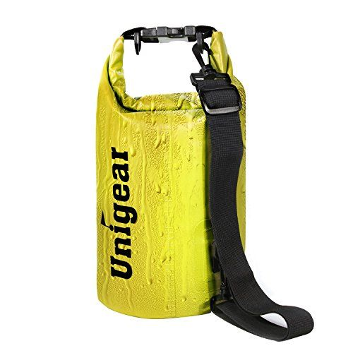 Dry Bag Sack, Waterproof Floating Dry Gear Bags for Boating, Kayaking, Fishing, Rafting, Swimming, Camping and Snowboarding (Yellow, 10L) - http://scuba.megainfohouse.com/dry-bag-sack-waterproof-floating-dry-gear-bags-for-boating-kayaking-fishing-rafting-swimming-camping-and-snowboarding-yellow-10l/