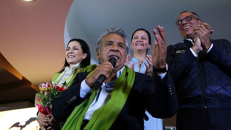 Ecuador's Moreno claims victory in presidential election, rival demands recount https://www.rt.com/news/383167-ecuador-elections-moreno-lasso/