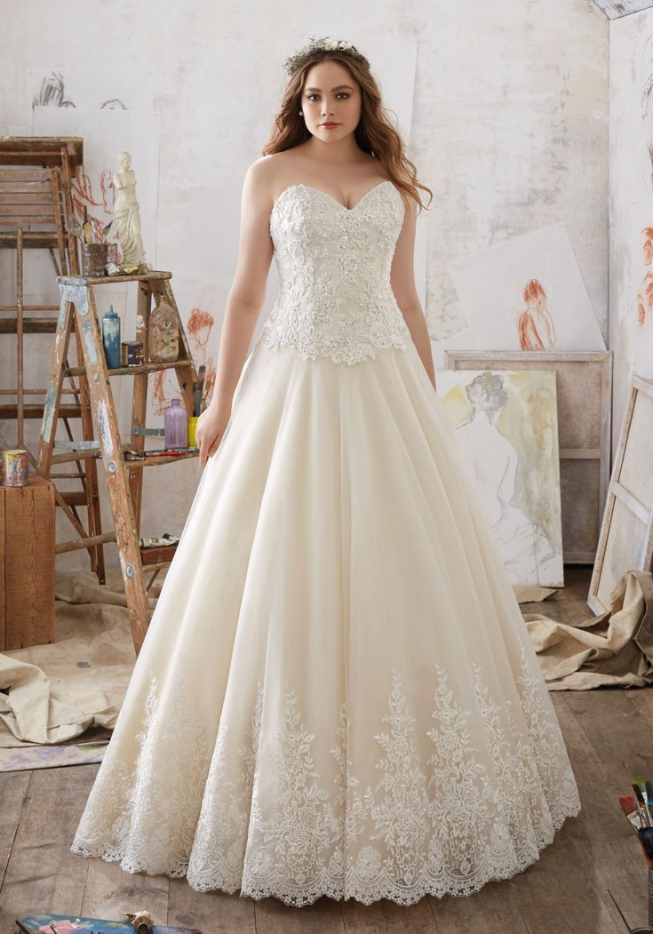 Wedding Dresses for Larger Ladies - Dress for Country Wedding Guest Check more at http://svesty.com/wedding-dresses-for-larger-ladies/