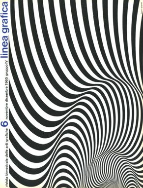 magazine cover by Franco Grignani (1965)