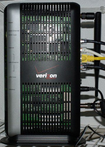 verizon fios actiontec router