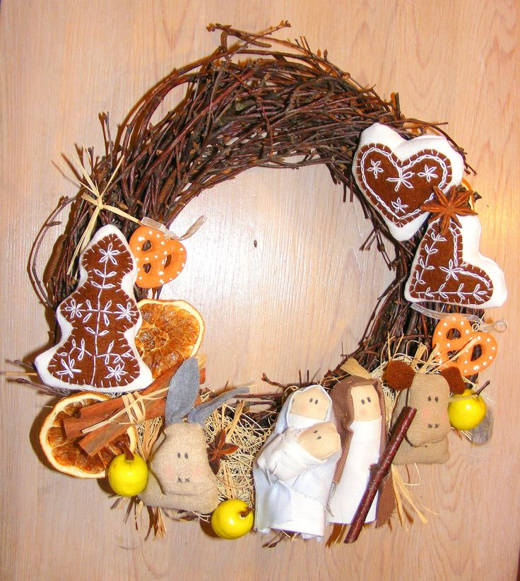 christmas wreath jej-art-terapia.blogspot.com
