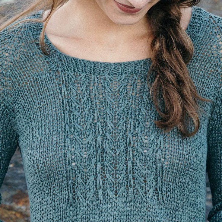 merrifield pullover knitting pattern - Quince and Co