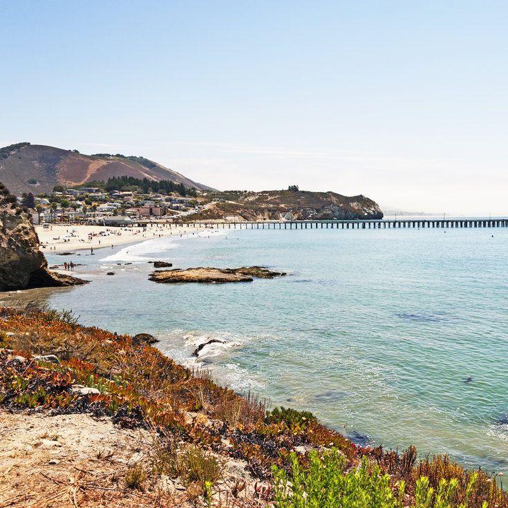 Downtown Avila Beach, Avila Beach - 20 Best Beaches in California - Coastal…