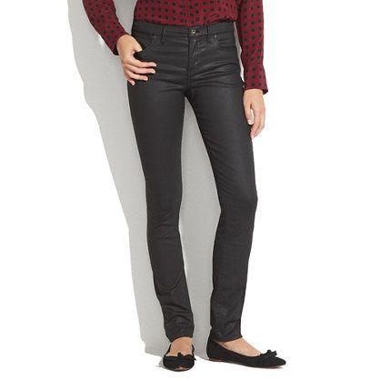 Skinny Skinny Coated Jeans - skinny skinny - Women's DENIM - Madewell