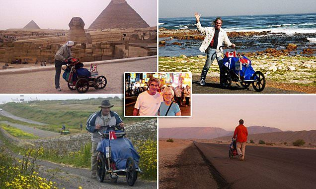 Canadian Jean Beliveau's 11-year walk is believed to be the world's longest uninterrupted circumnavigation on foot. He shares the highs and lows of his trip with MailOnline Travel.