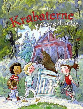 Krabaterne i Kongelunden er en sjov og farverig spændingshistorie for de 6-11-årige. En mini-krimi om venskab trods forskellighed, om pinlige voksne og om glæden ved at tjene flaskepant nok til at købe lakridspiber.