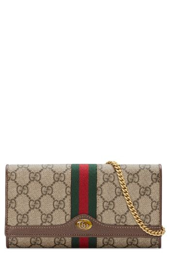 d8ad7533a7c7 Beautiful Gucci Ophidia GG Supreme Wallet on a Chain Women's Fashion  Handbags. [$890] topbrandsclothing from top store