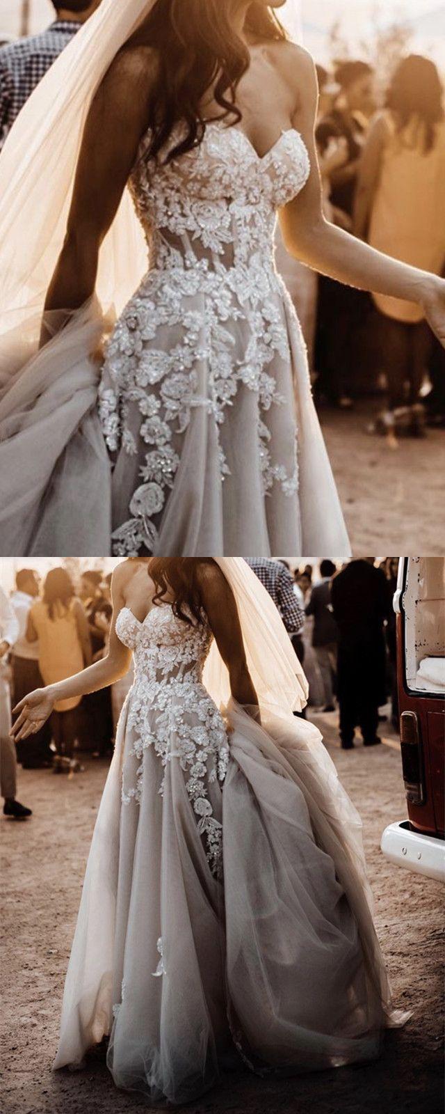 Boho Wedding Dress Beach Wedding Dress Summer Wedding Dress