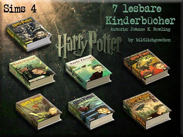 Harry Potter Band 1-7 by Bildlichgesehen at Akisima • Sims 4 Updates