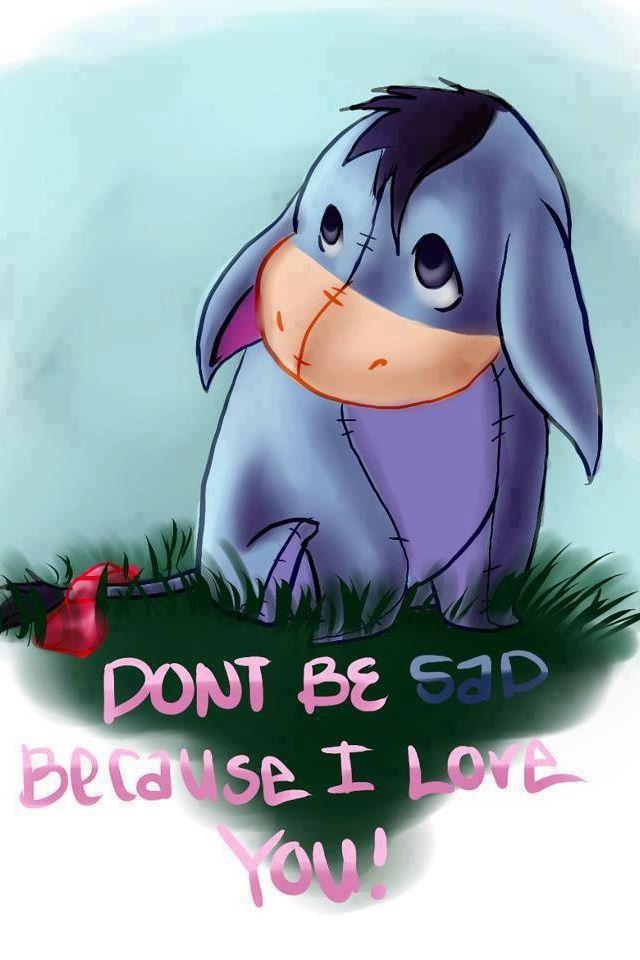 Eeyore - Winnie the Pooh disney characters #disney disney characters #disney