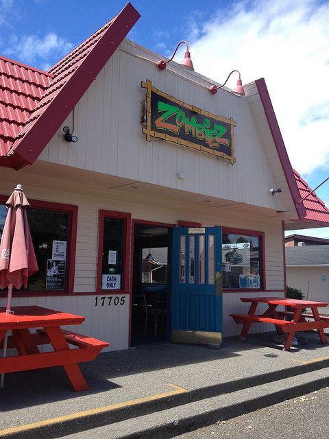 Zombiez - Scary Good Burgers - Located on Vashon Island, WA