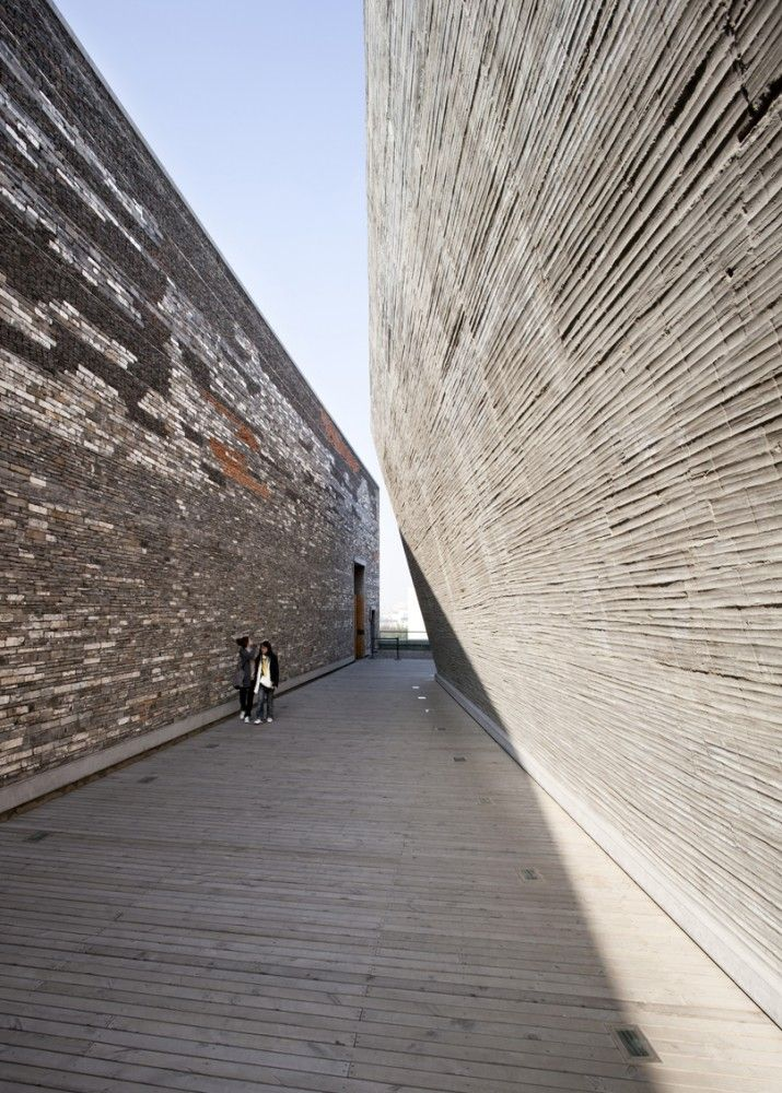 Ningbo  Photography: Wang Shu Projects, by Clement Guillaume